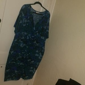 London Times floral print dress sz 20